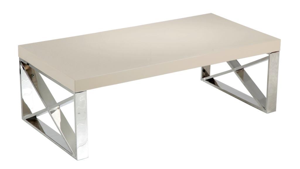 Wondrous Comet Coffee Table Mushroom High Gloss Top Polished Stainless Steel Legs Inzonedesignstudio Interior Chair Design Inzonedesignstudiocom